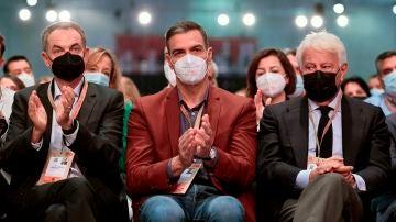 Zapatero, Sánchez y González
