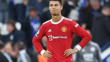 Cristiano Ronaldo, con el United