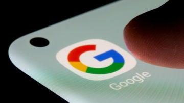 La app de Google en un smartphone