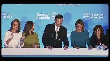 ¿Qué ocurrió en la política en 2011? De la marcha de Zapatero a la mayoría absoluta del PP de Rajoy