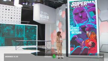 Helena Resano en el nuevo plató de laSexta Noticias