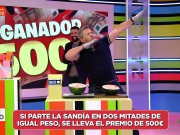 ¡Zapeando regala 500 euros a un espectador que estaba en el baño!