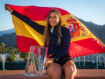 Paula Badosa, ganadora en Indian Wells