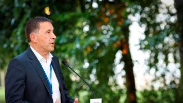 El secretario general de EH Bildu, Arnaldo Otegi
