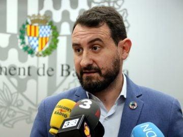 Imatge del líder del PSC de Badalona, Rubén Guijarro.