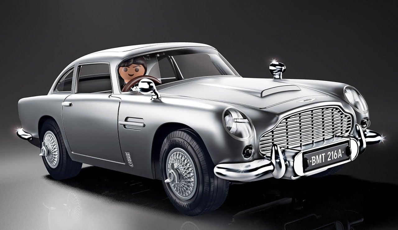 El icónico Aston Martin DB5 de James Bond ya está disponible en PLAYMOBIL