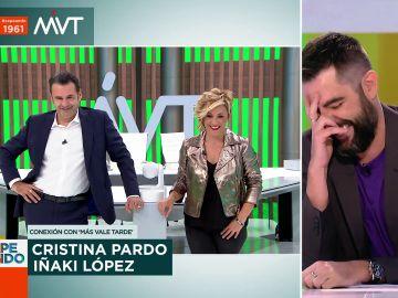 """""""¿En serio os arrancáis bello púbico en directo?"""": el susto de Iñaki López al conectar con Zapeando"""