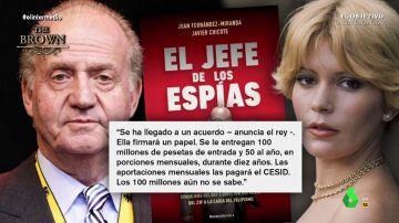 """La conversación en la que Juan Carlos I revela que Barbara Rey le chantajeó por tener fotos juntos: """"Tuve gestos con ella. Le toqué el pecho"""""""