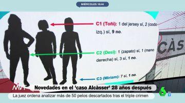 Buscan el ADN de Antonio Anglès en la escena del crimen de las niñas de Alcasser: una jueza ordena analizar 50 pelos