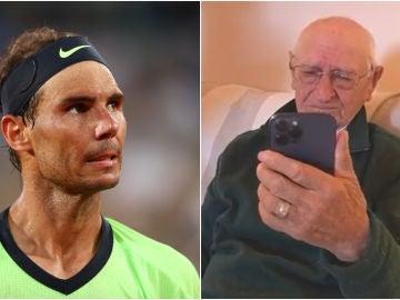 Detallazo de Rafa Nadal con un anciano de 90 años por su cumpleaños