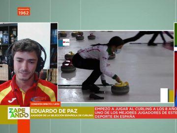 ¿Qué es el curling? El jugador de la Selección Española Eduardo de Paz desvela las claves de este curioso deporte