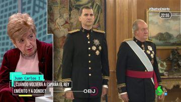 ¿Está rota la relación entre Juan Carlos I y Felipe VI? Pilar Urbano responde en El Objetivo