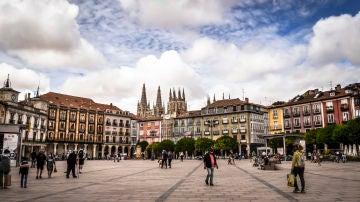 Plaza Mayor. Burgos