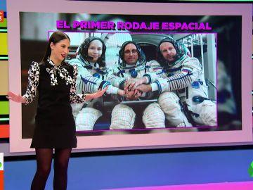 Así es la primera película grabada en el espacio: lo que se sabe de su argumento, rodaje y protagonistas
