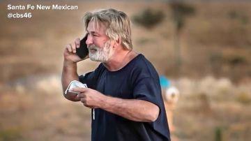 Imagen de Alec Baldwin tras el accidente mortal en el rodaje