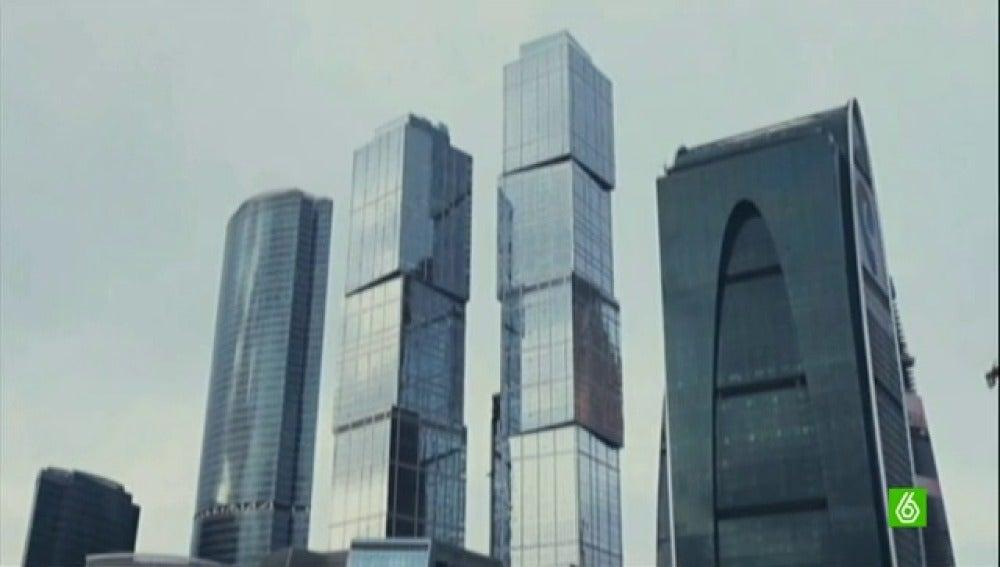 queran llegar hasta la planta de un edificio que cuando se inaugure ser el ms alto de europa