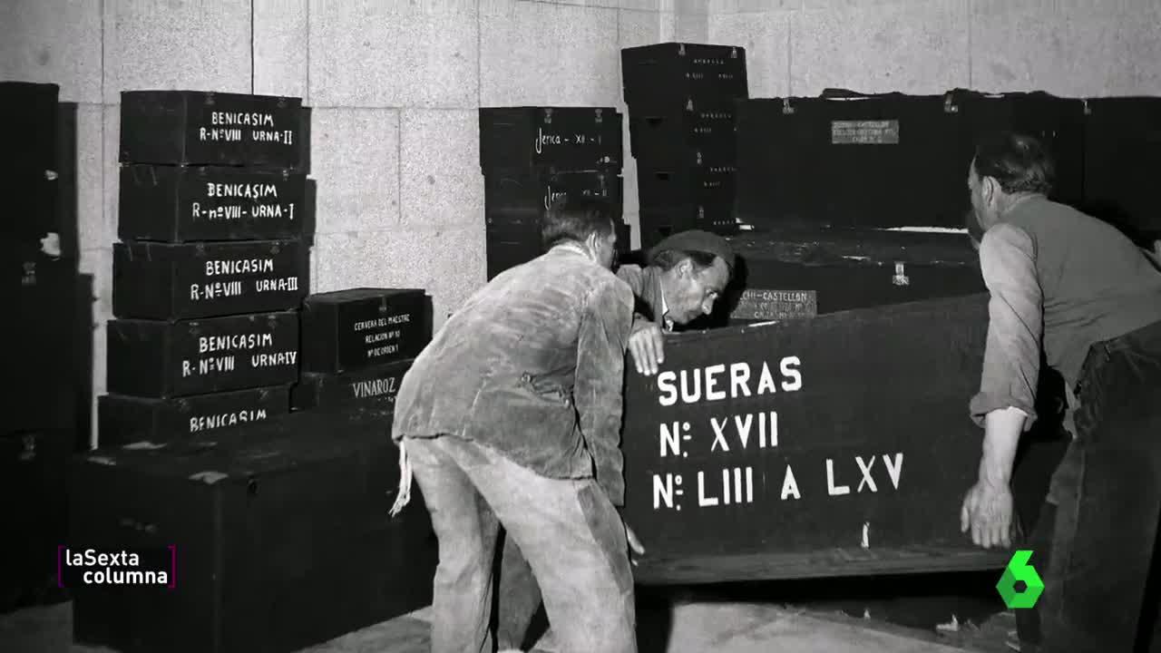 Así se coordinó el traslado de restos al Valle de los Caídos: 21 000  identificados
