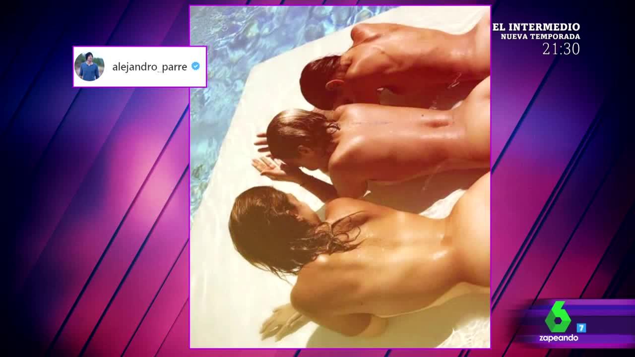 Culot El Reencuentro Chenoa Geno Y Nuria Fergó Calientan Las Redes Sociales Con Una Foto Desnudas En La Piscina