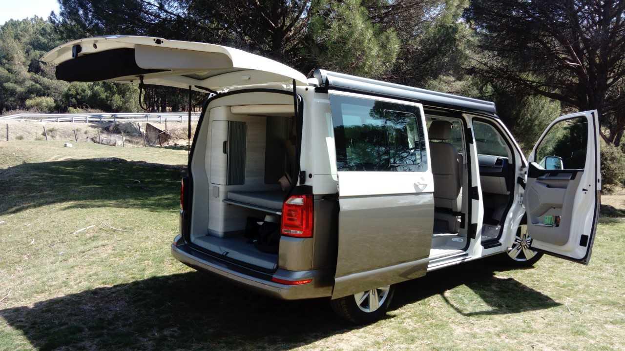 Instalar Ducha Exterior Autocaravana.Test A Fondo Volkswagen California Ocean Juguete Para Mayores