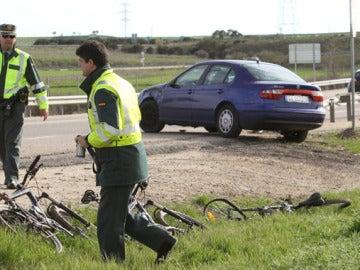 Atropello de ciclistas