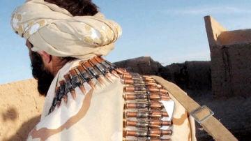 Imagen de archivo de un terrorista de Al Qaeda