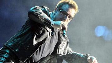 Bono, vocalista de U2
