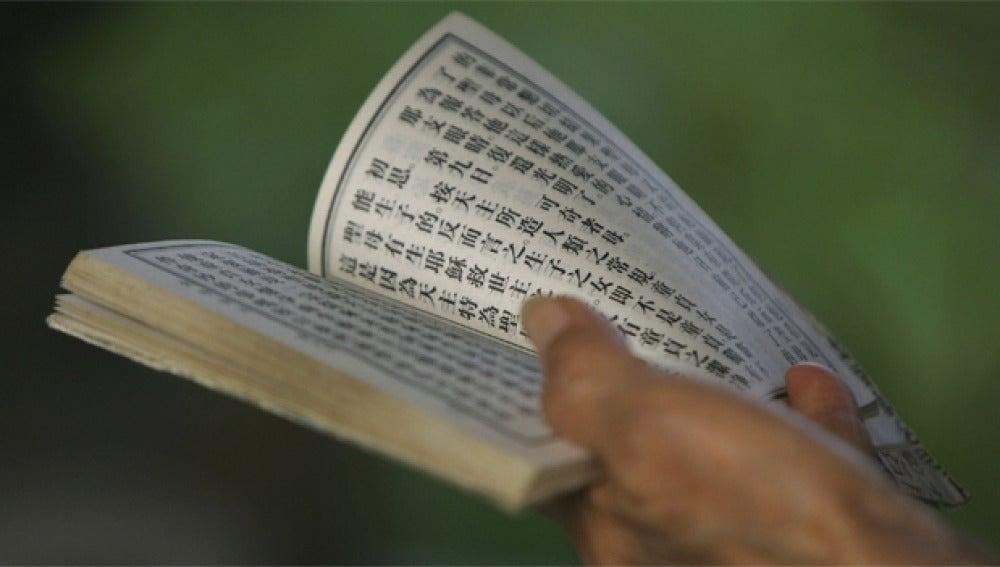 Libro en chino