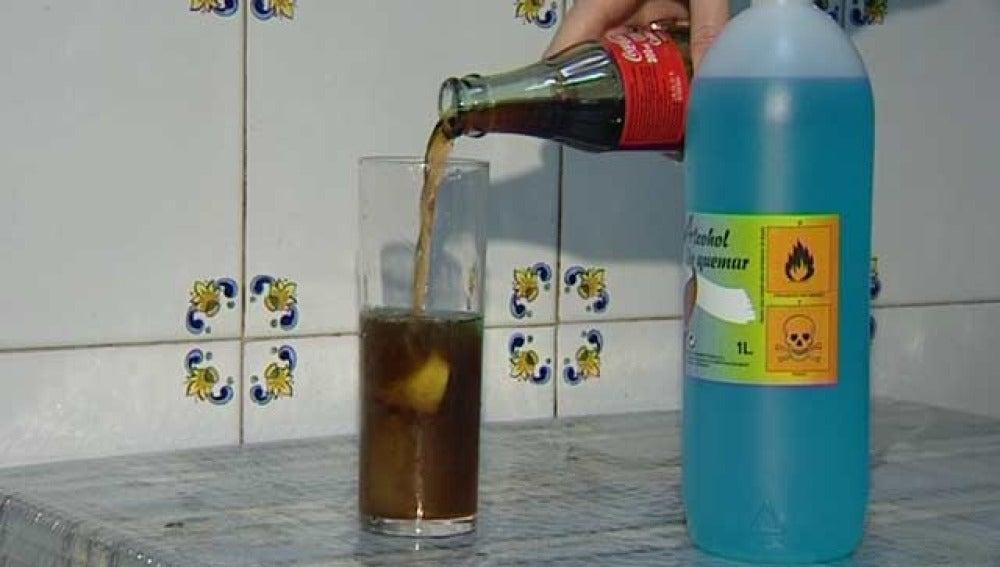 Alcohol metílico de quemar