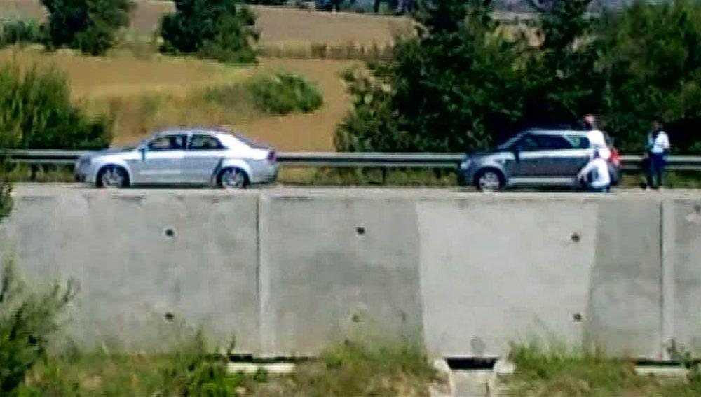 Robos en la autopista de Barcelona