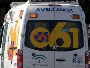 Ambulancia de la Junta de Andalucía