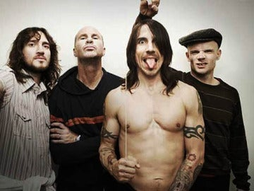 "Los Red Hot Chili Peppers presentan en España ""I'm with you"""