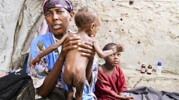 Crisis humanitaria en Somalia