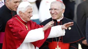 Benedicto XVI con Rouco Varela