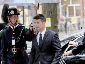 El príncipe Federico de Dinamarca