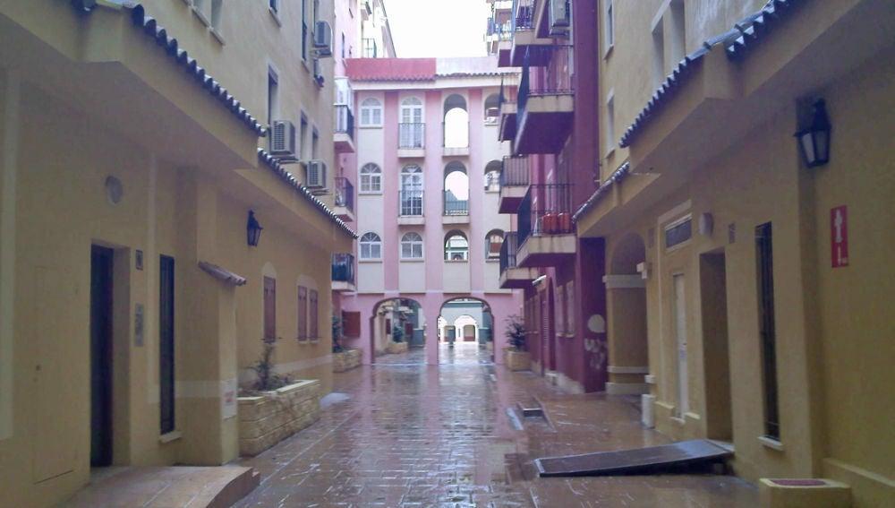 Calles de Port Saplaya