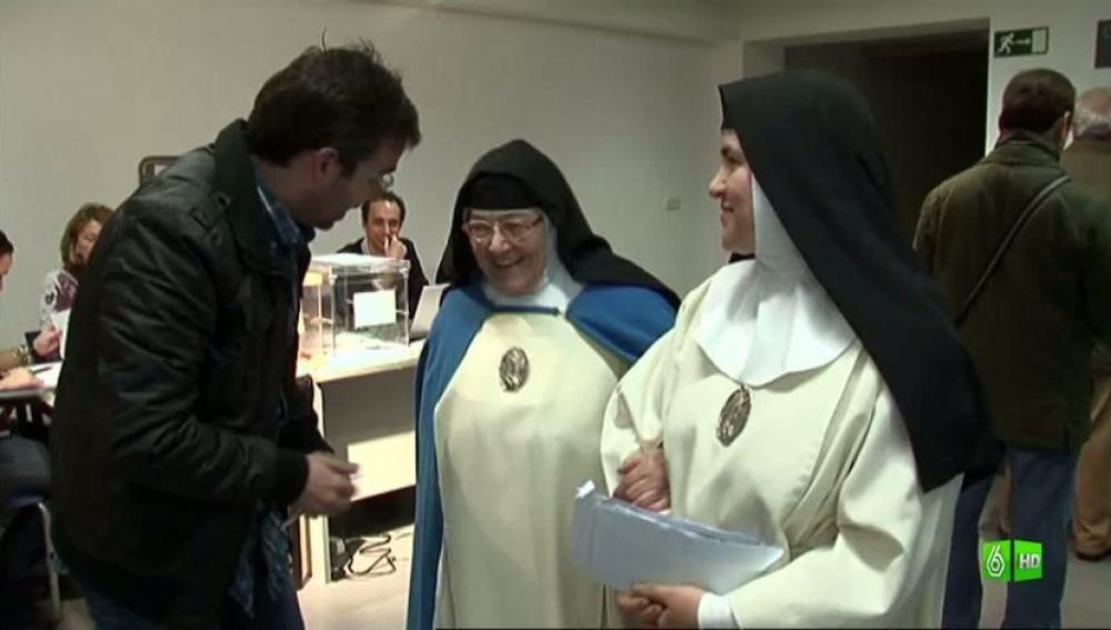 Imagen Las monjas vienen con la papeleta del PP preparada