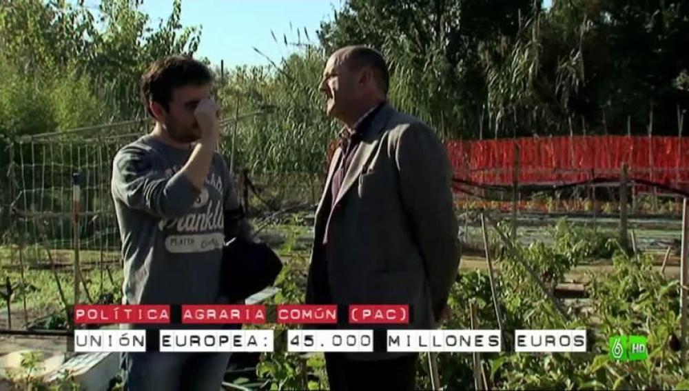 Imagen Las ayudas que otorga la UE a los terratenientes  están desligadas de la producción