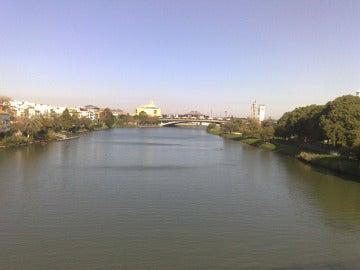 El río Guadalquivir de Sevilla