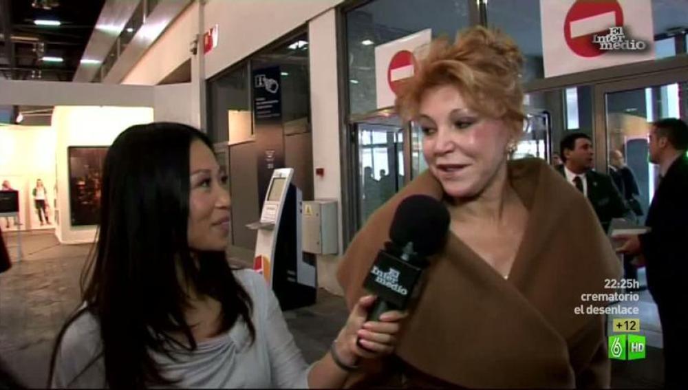 Imagen Usun Yoon entrevista a Carmen Cervera en ARCO