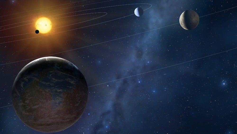 Nuestro sistema planetario