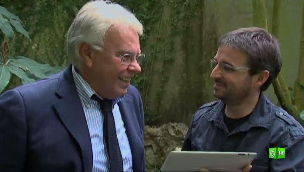Imagen ¿Guarda rencor Felipe González a periodistas como Anson o Pedro J. Ramírez?