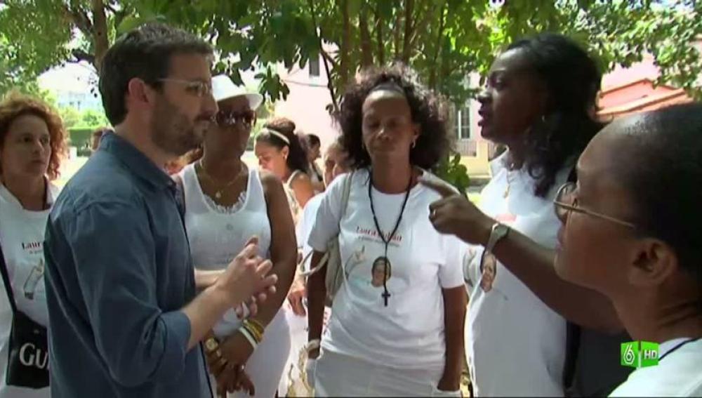 """Imagen Con las Damas de Blanco: """"¿Está la oposición cubana al servicio de EEUU?"""""""
