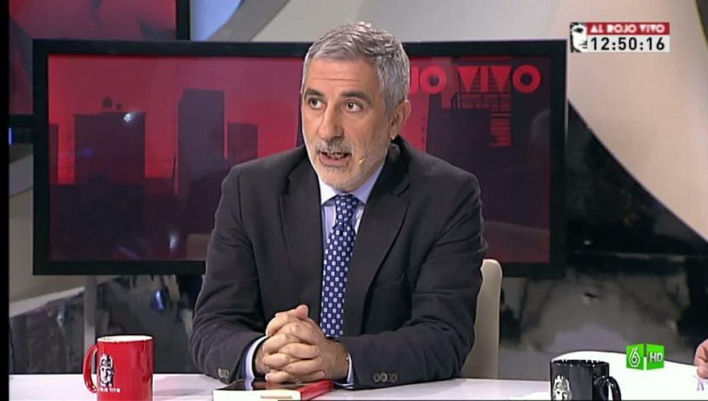 Imagen Ferreras entrevista a Llamazares