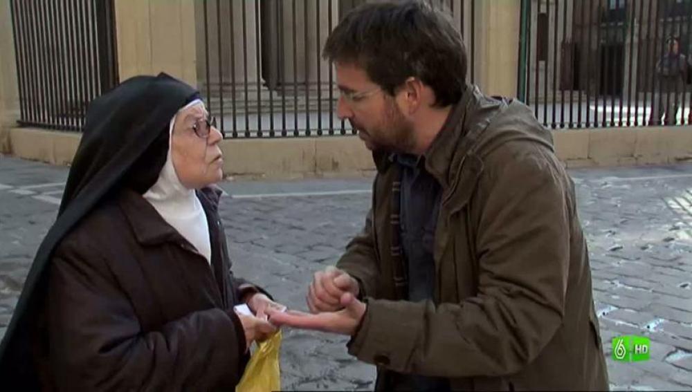 Imagen La hermana Rosario, muy descontenta con las apropiaciones de la Iglesia
