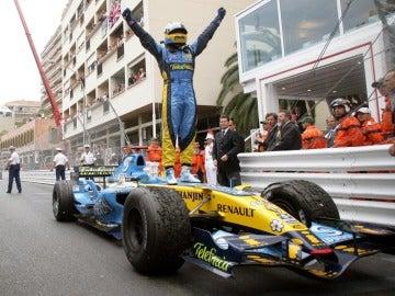 Alonso venció en 2006 con Renault