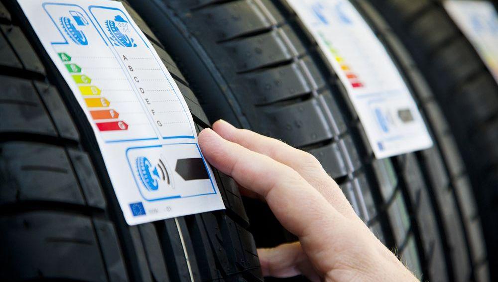 El etiquetado de neumáticos