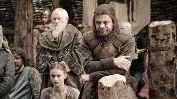 "Eddard ""Ned"" Stark y Sansa Stark 2"