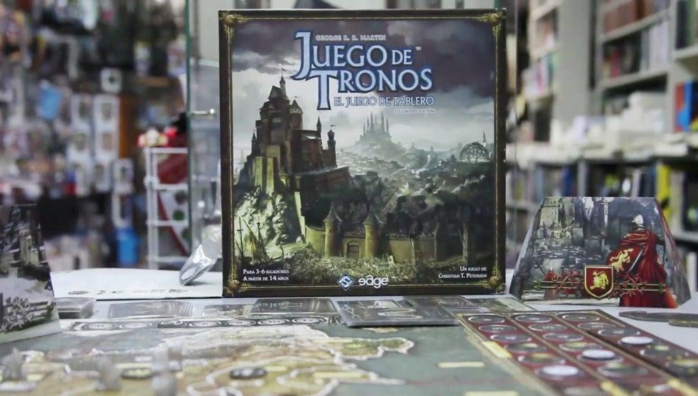 El juego de mesa de 'Juego de tronos'