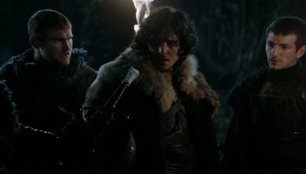 Jon Nieve y sus compañeros