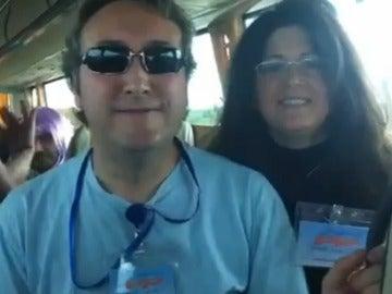 Dos militantes del PP se cuelan en la Caravana